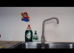 Enlace a Lego Mario en la vida real [Stop Motion]