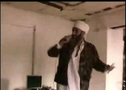 Enlace a Osama Bin Laden cantando Poker Face, quiero creer que es real muy fuertemente
