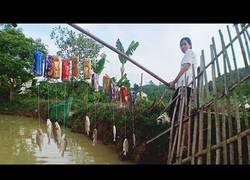 Enlace a Habilidades de supervivencia: Pescar con latas vacías