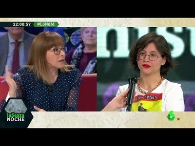 Sofia Rincon intenta debatir con feministas radicales