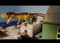 Enlace a Jurassic Park lego [Stopmotion]