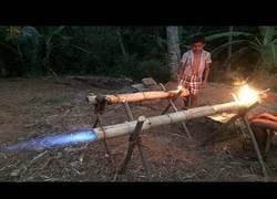 Enlace a Después de las piscinas subterraneas llegan los cañones de bambú