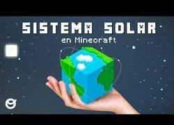 Enlace a Recreando el Sistema Solar en Minecraft
