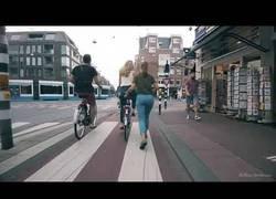 Enlace a Un día rodando por Amsterdam