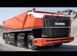 Enlace a SCANIA presenta su modelo AXL autónomo de camiones que presenta revolucionar el mercado