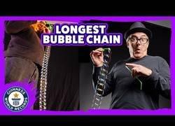 Enlace a La cadena de pompas más larga del mundo