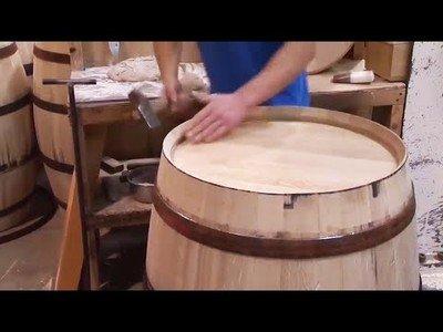 Así se fabrican los barriles de madera