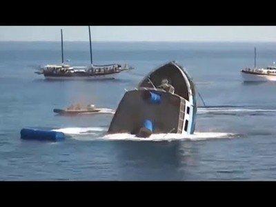 Top 10 de embarcaciones que acabaron hundiéndose