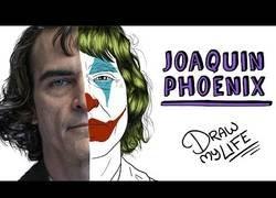 Enlace a El 'Draw My Life' de Joaquin Phoenix, el actor que da vida al Joker