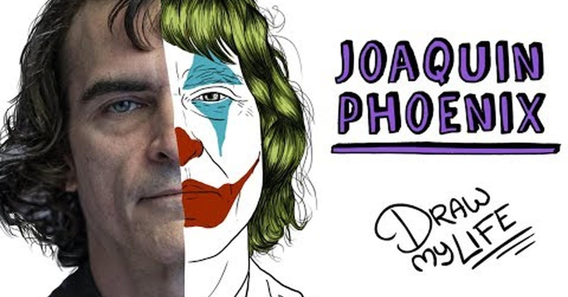 No Tengo Tele El Draw My Life De Joaquin Phoenix El