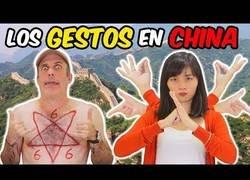 Enlace a Así se comunican en China a través de los gestos
