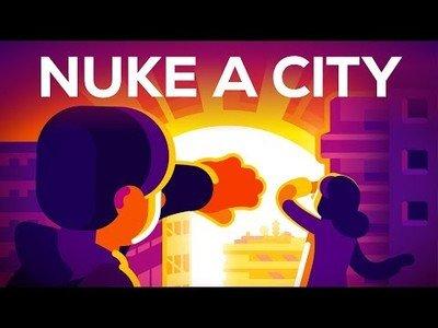 ¿Qué pasaría si hubiese una explosión nuclear en medio de una gran ciudad?