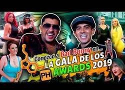 Enlace a Jordi ENP acude a la gala de los PH Awards y conoce a Bad Bunny