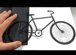 Enlace a Colección de ilusiones ópticas animadas sobre papel