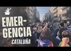 Enlace a Entrevistando a manifestantes en las concentraciones en Cataluña