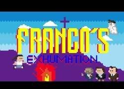 Enlace a La exhumación de Franco, en versión Super Mario Bros.