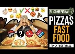 Enlace a Un pizzero italiano prueba las pizzas de las principales pizzerias de reparto a domicilio