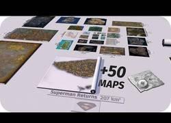 Enlace a La comparación de tamaños entre mapas de diferentes videojuegos