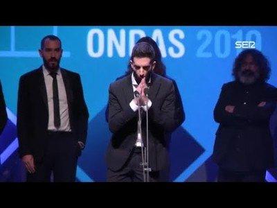 El profundo discurso de los miembros de La Resistencia tras recibir el Premio Ondas