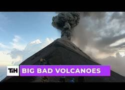 Enlace a Presenciando volcanes entrando en erupción