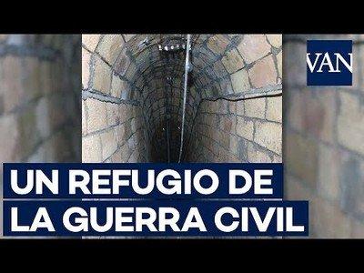 Descubren un refugio de la Guerra Civil durante las obras del metro de l'Hospitalet, Barcelona
