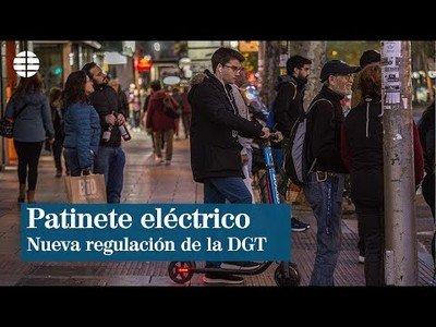 La DGT regula el tránsito de los patinetes eléctricos