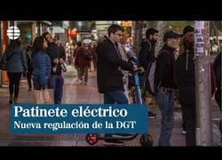 Enlace a La DGT regula el tránsito de los patinetes eléctricos