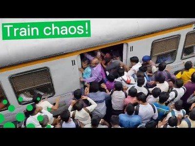 Así es coger el tren en la India