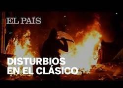 Enlace a Los altercados que se vivieron alrededor del Camp Nou durante la jornada del Clásico