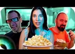 Enlace a Tipos de personas viendo películas