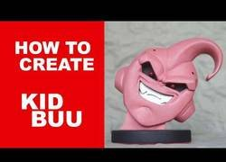 Enlace a Creando una figura tallada de Kid Buu (Dragon Ball Z)