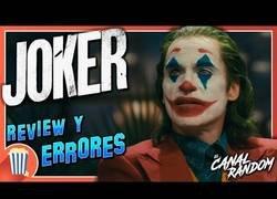 Enlace a Errores encontrados en la película Joker