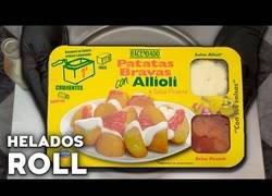 Enlace a Preparando Helado de Patatas Bravas