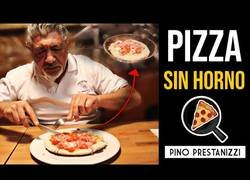 Enlace a El pizzero 'youtuber' prepara una pizza sin horno