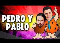 Enlace a Pedro y Pablo, el nuevo gobierno picapiedra
