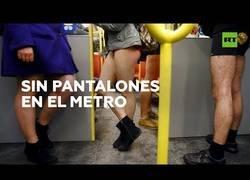 Enlace a Así se vivió el Día Mundial sin Pantalones en el Metro