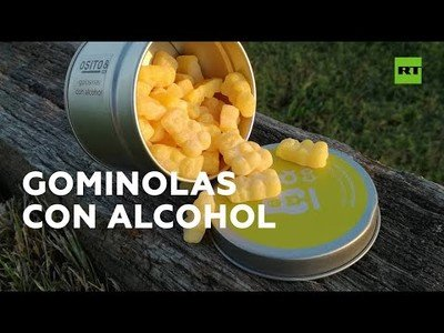 Haribo declara la guerra a una empresa española que vende gominolas con alcohol