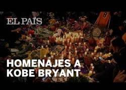 Enlace a Los fans de Kobe Bryant lloran su muerte