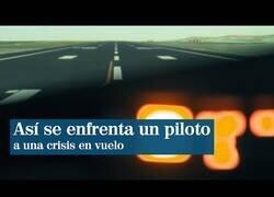 Enlace a Así actúa un piloto de avión ante una crisis en vuelo como la del Air Canada