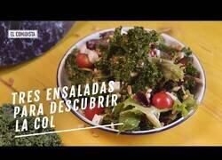 Enlace a Tres recetas de ensalada para redescubrir la col