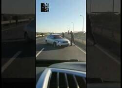 Enlace a Persecución policial en Huelva que acaba en colisión