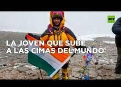 Enlace a La niña de 12 años que ya ha alcanzado los picos más altos del mundo