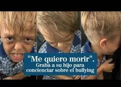Enlace a Una madre comparte un vídeo en el que su hijo pide morir para concienciar sobre los efectos del bullying