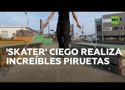 Enlace a El afán de superación de un 'skater' ciego