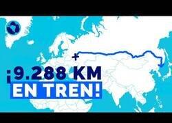 Enlace a El Transiberiano, la línea ferroviaria más larga del mundo