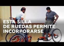 Enlace a La silla de ruedas que permite incorporarse