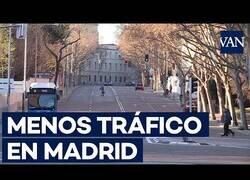 Enlace a El coronavirus provoca que el tráfico en Madrid disminuya