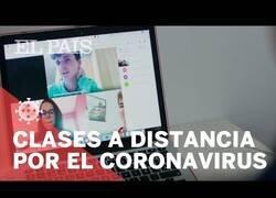 Enlace a Así se están impartiendo las clases a distancia por el coronavirus