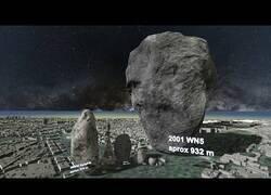 Enlace a Comparación de tamaño entre diferentes asteroides
