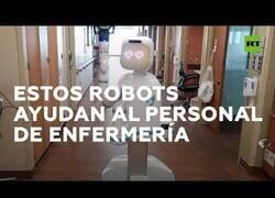 Enlace a 'Robots enfermeros' ayudan al personal sanitario